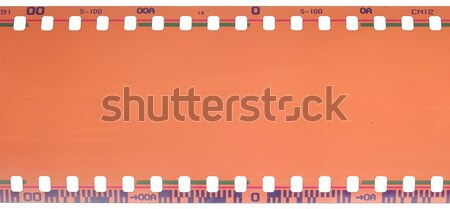 35mm filmstrip isolated on white background  Stock photo © inxti
