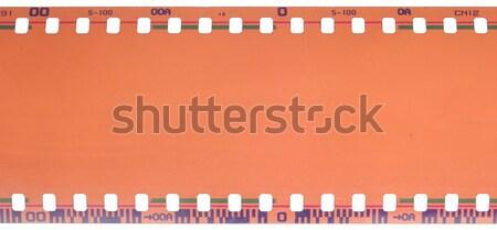 35mm filmszalag izolált fehér textúra film Stock fotó © inxti