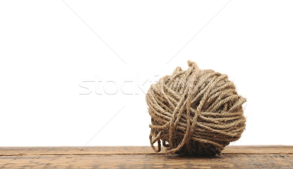 ball of yarn for knitting isolated on white background  Stock photo © inxti