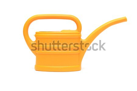 yellow watering can isolated on white background  Stock photo © inxti