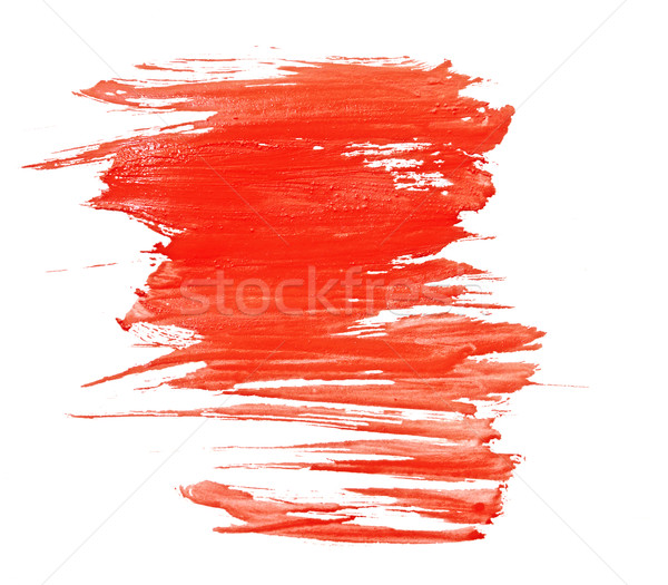 Red water color paint texture  Stock photo © inxti