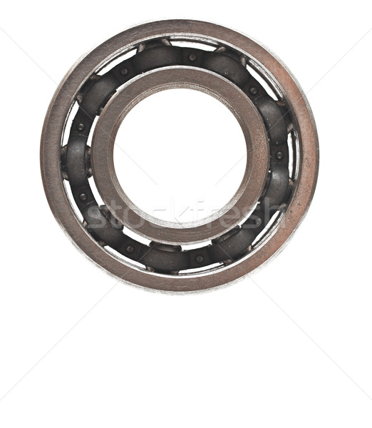 Ball bearing isolated on white background  Stock photo © inxti