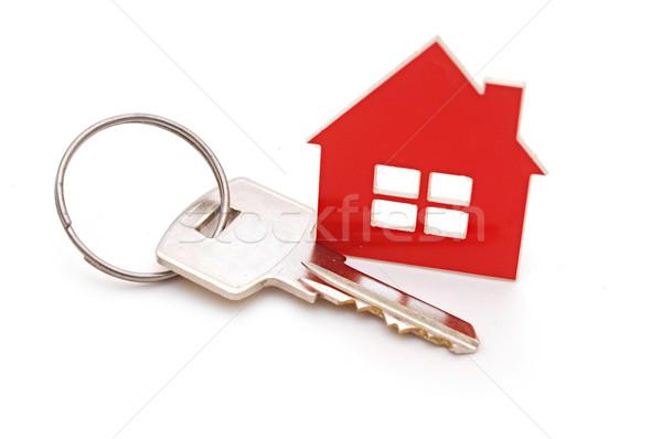 Zdjęcia stock: Domu · odizolowany · biały · dom · biały · domu