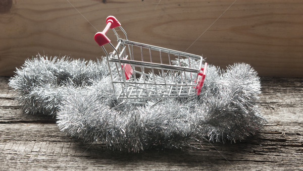Shopping cart Stock photo © inxti