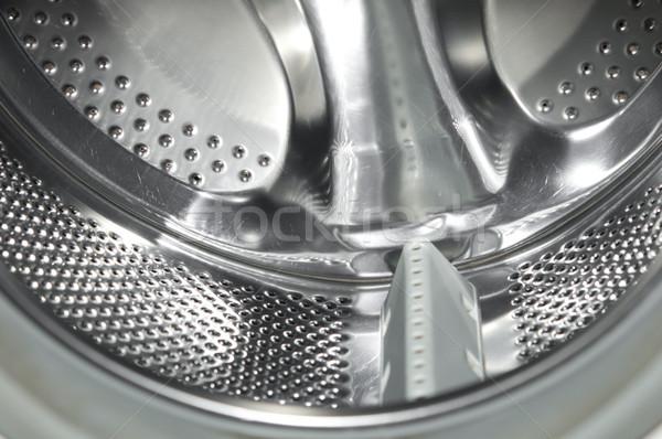 çamaşır makinesi içinde su soyut arka plan sanayi Stok fotoğraf © inxti
