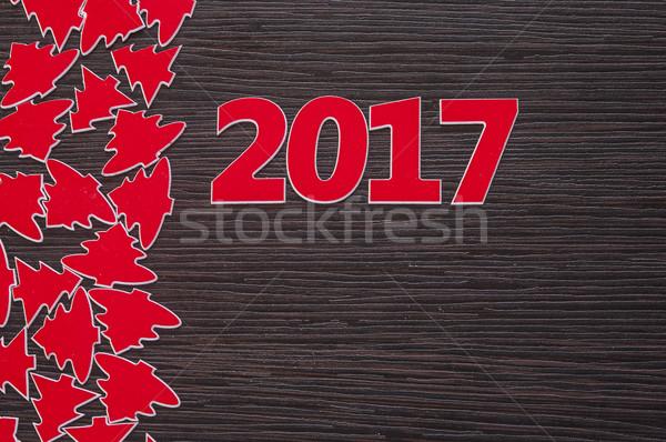 Happy new year 2017 Stock photo © inxti