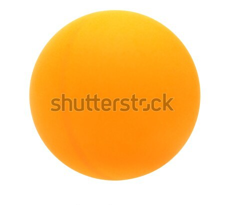 yellow ball isolated on white background. Stock photo © inxti