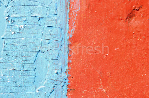 red and blue grunge wood  Stock photo © inxti