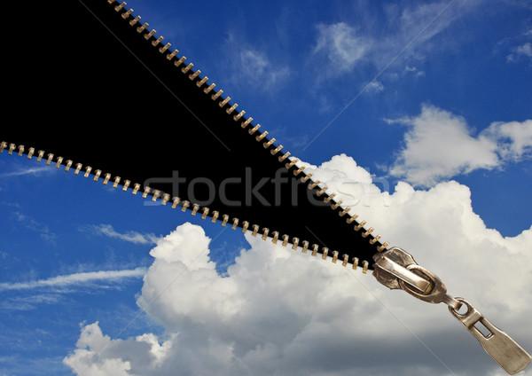 Zipper concept Stock photo © inxti