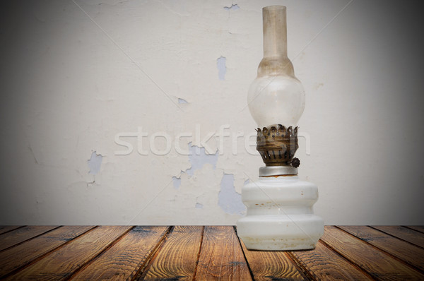 Old fashioned kerosene lantern Stock photo © inxti