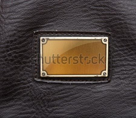 leather purse on wood background Stock photo © inxti