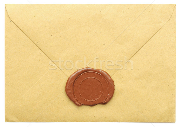 sealed brown envelope  Stock photo © inxti