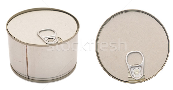 Food can isolated on white background  Stock photo © inxti