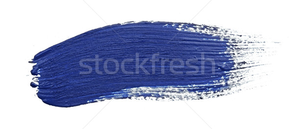 paint stroke on white background  Stock photo © inxti