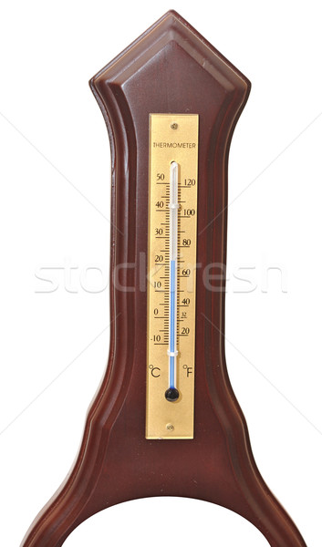 Wooden thermometer Stock photo © inxti