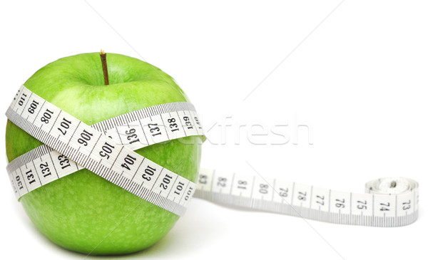 green apples measured the meter Stock photo © inxti