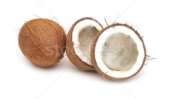 rotten coconut Stock photo © inxti