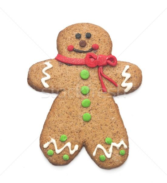 Колобок улыбка человека счастливым Cookie сезонный Сток-фото © inxti