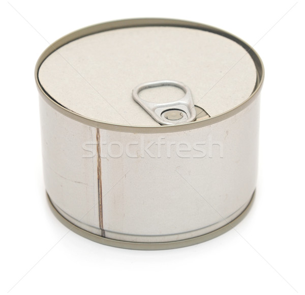 gray tin can isolated object  Stock photo © inxti