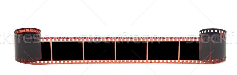 Couleur négatifs film isolé blanche texture Photo stock © inxti