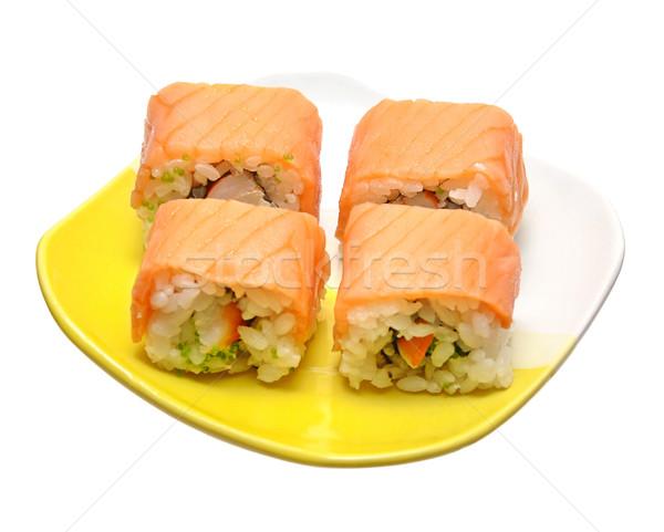 Sushi rolls Stock photo © inxti