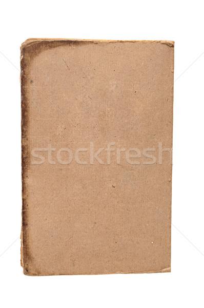 Libro viejo aislado blanco papel libro Foto stock © inxti