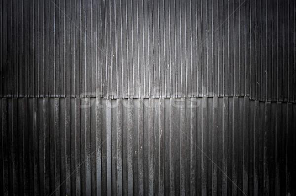 old corrugated iron wall  Stock photo © inxti