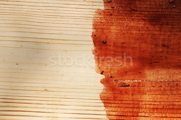 brown paint on old wooden background Stock photo © inxti