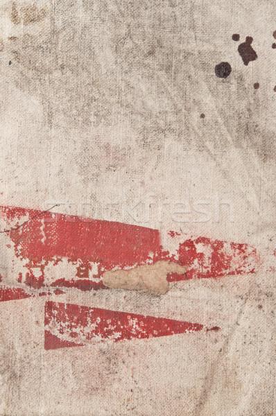 Régi papír papír háttér történelem antik koszos Stock fotó © inxti