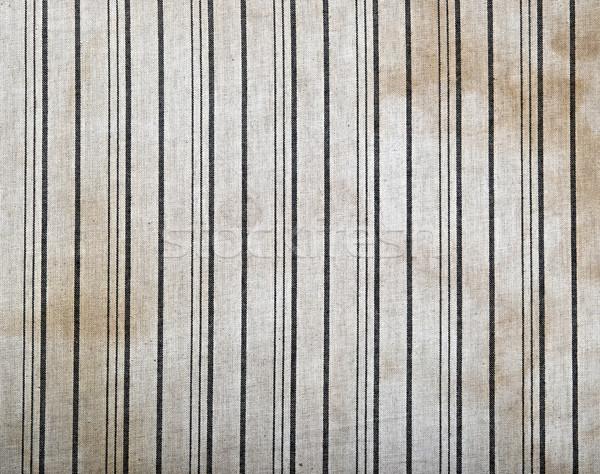 Foto stock: Velho · pano · fundo · corda · amarelo · têxtil