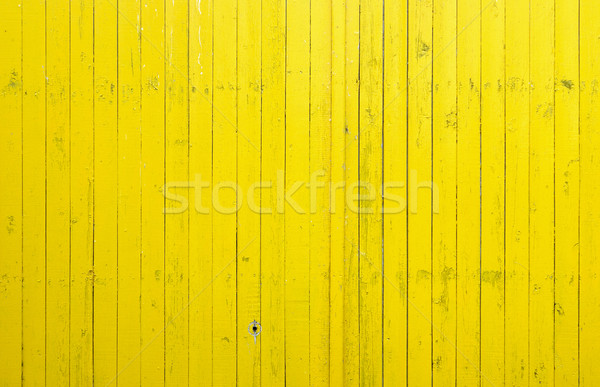 Close up of yellow wooden fence panels. It is possible to use as Stock photo © inxti