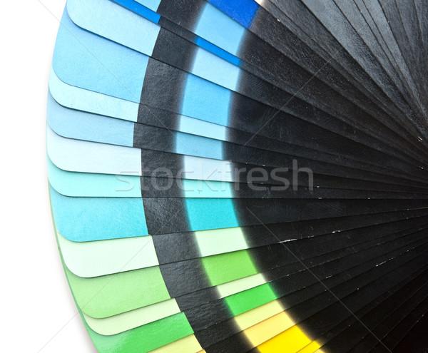 Renk rehberlik spektrum gökkuşağı beyaz Stok fotoğraf © inxti