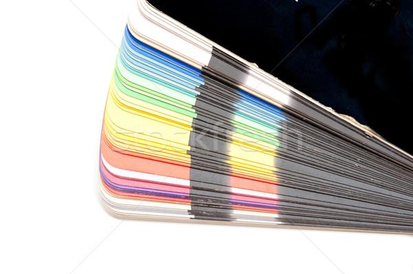 Stock fotó: Szín · útmutató · spektrum · minták · szivárvány · fehér