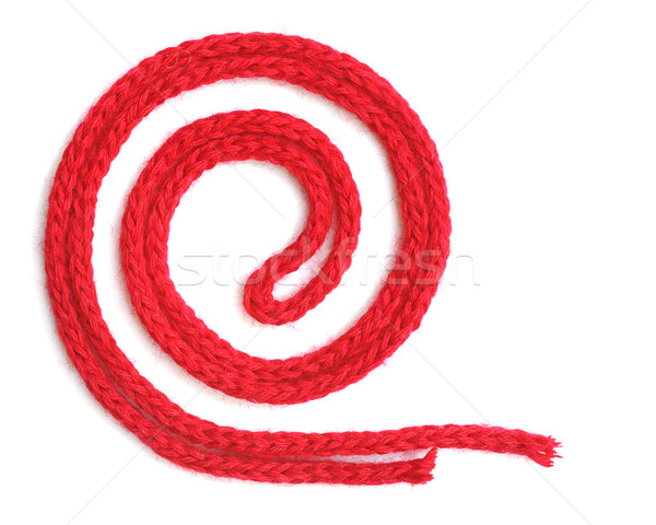 red synthetic ropes Stock photo © inxti