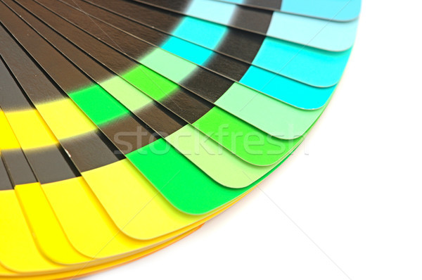 Color palette guide for printing industry isolated Stock photo © inxti