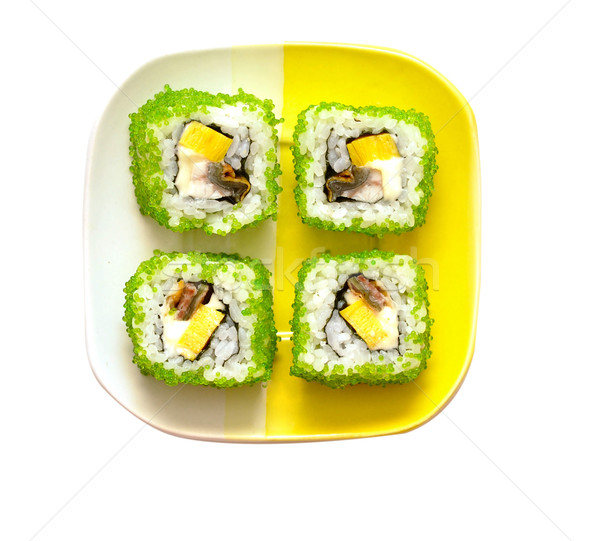 Sushi rolls Stock photo © inxti