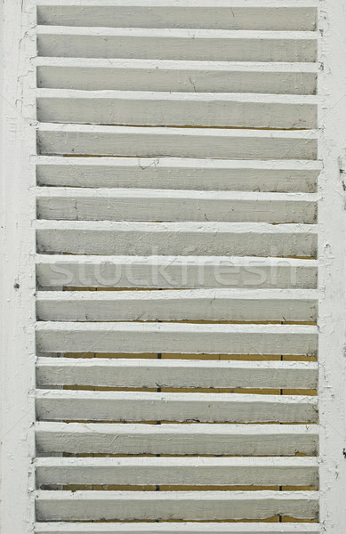 Window with white shutters Stock photo © inxti
