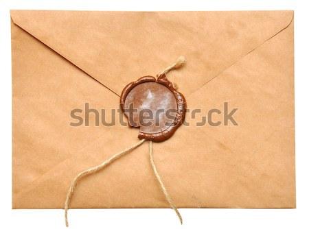 old envelope Stock photo © inxti