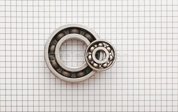 Two ball bearings  Stock photo © inxti