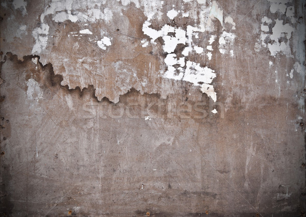 very old wall with a crack on it  Stock photo © inxti