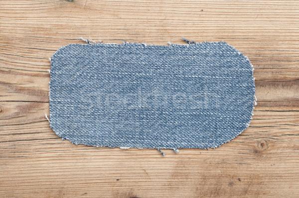 Tessuto denim jeans texture moda Foto d'archivio © inxti