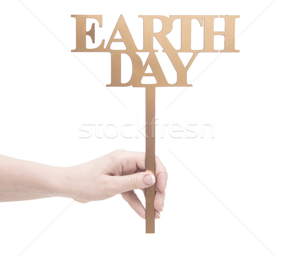 Stock photo: Earth day