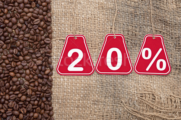 Twenty percent discount  Stock photo © inxti