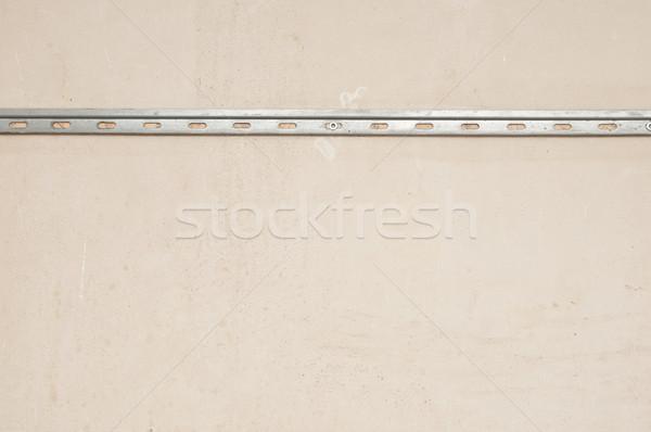 Roestige gebarsten beton vintage muur abstract Stockfoto © inxti