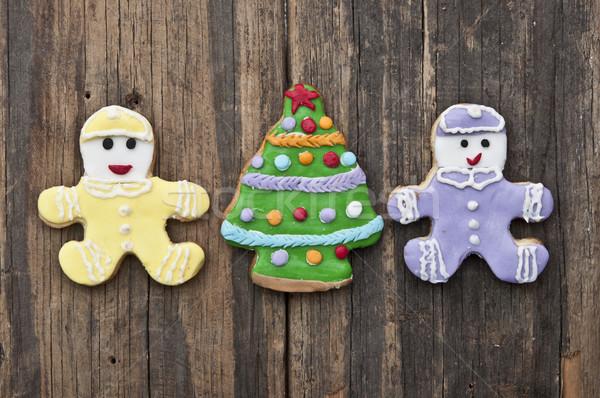 праздник Cookie деревенский праздников древесины Сток-фото © inxti