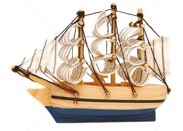model classic boat Stock photo © inxti