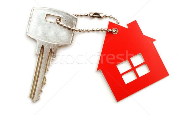 Zdjęcia stock: Domu · klucze · biały · dom · tle · grupy · kluczowych