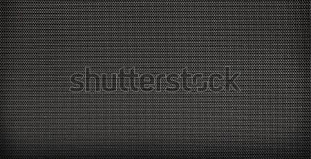 Carbon fiber background, black texture  Stock photo © inxti
