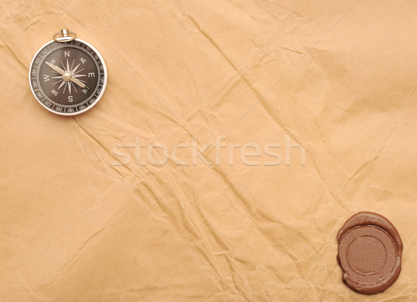 seal wax and compass  Stock photo © inxti