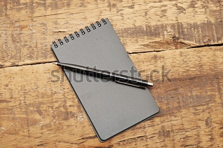 blank sheet of paper on the table Stock photo © inxti
